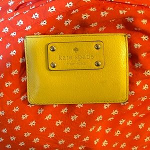 Kate Spade Yellow Card Case
